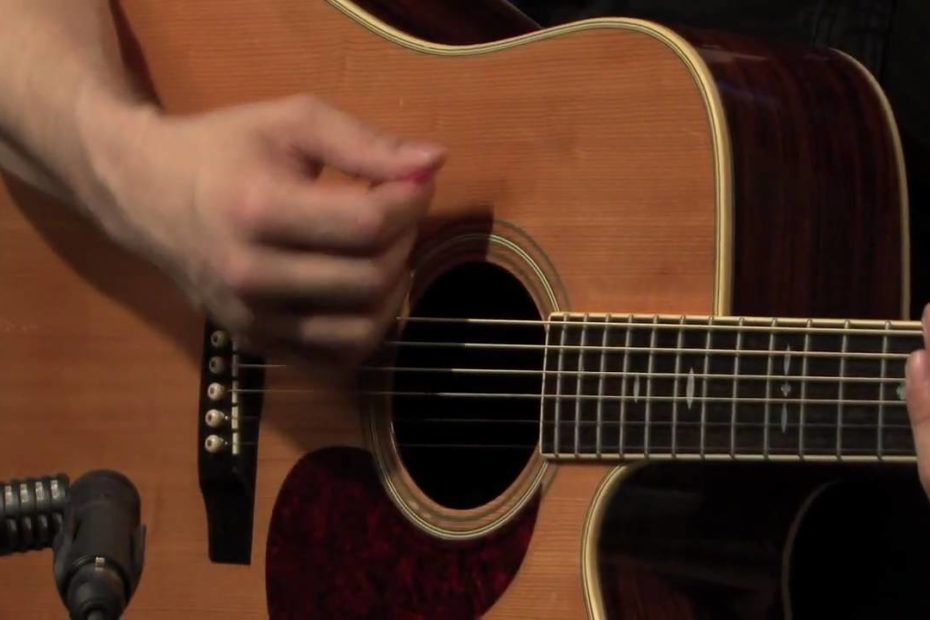 07 Basic Beginner Right Hand Guitar Technique
