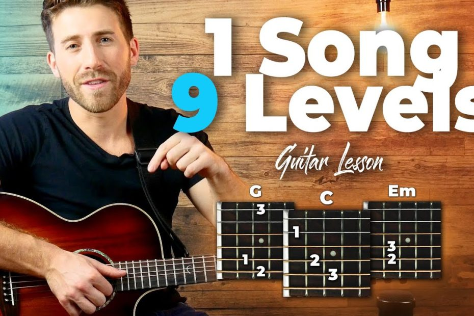 1 Song In 9 Levels Of Difficulty + FREE GIVEAWAY!