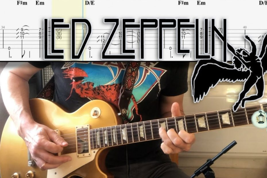 10 Great Led Zeppelin Riffs | Tutorial | TAB | Lesson | Cover