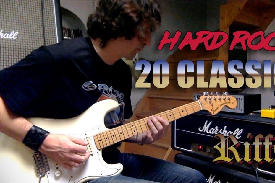 20 Classic Hard Rock Riffs