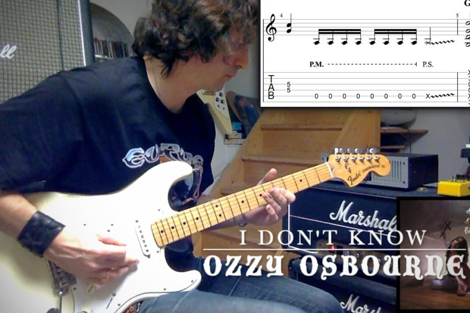 20 Hard Rock Riffs You Could Know (Or Not) | Tab | Tutorial | Lesson