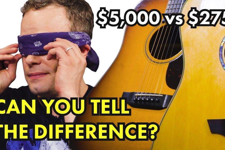 $275 Orangewood vs $5000 Collings Acoustic Guitar