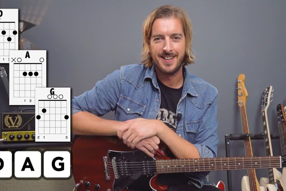 3 Chord Song: 3 Levels of Difficulty - 'The Middle' by Jimmy Eat World
