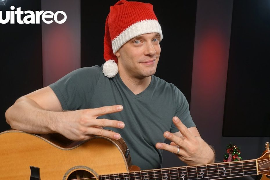 3 Easy Christmas Songs With 3 Chords - Guitar Lesson