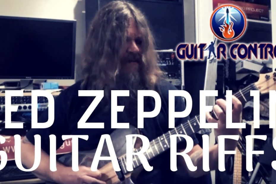 3 Essential Led Zeppelin Iconic Guitar Riffs - Rhythm Guitar Lesson On Led Zeppelin Riffs