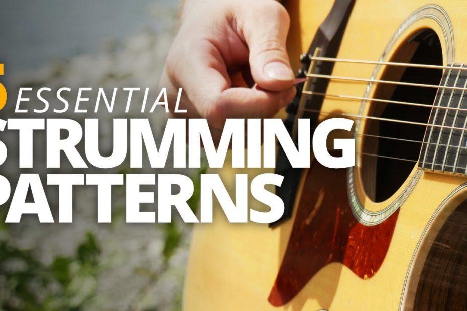 5 Essential Campfire Strumming Patterns - Campfire Guitarist Quick-Start Series #3