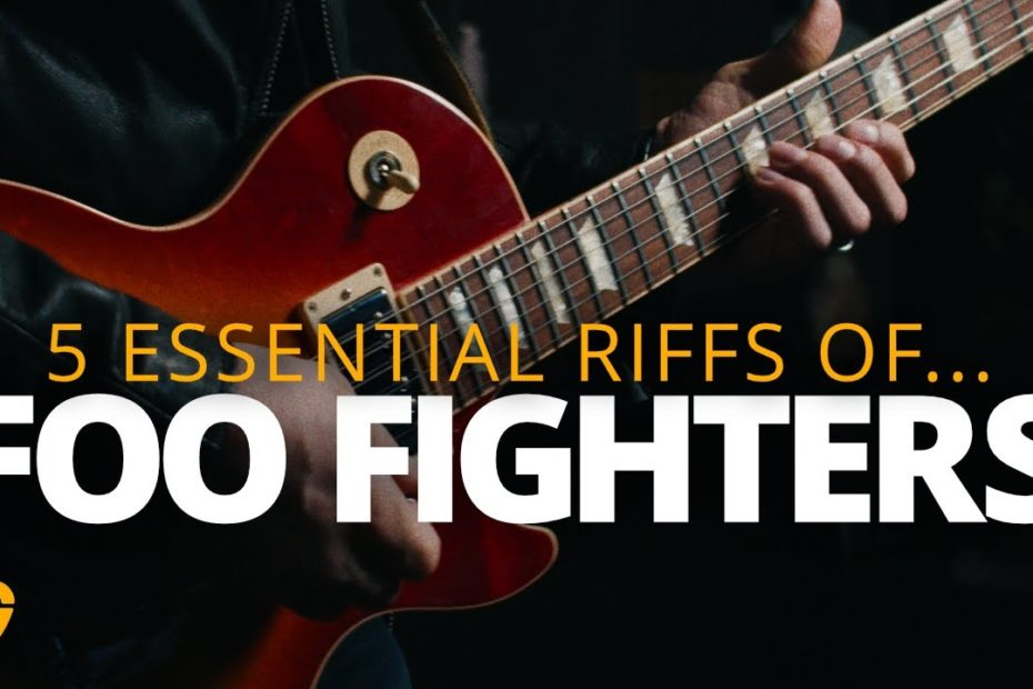 5 Foo Fighters Riffs That Bring Out The Best Of You - Rock Guitar Lesson