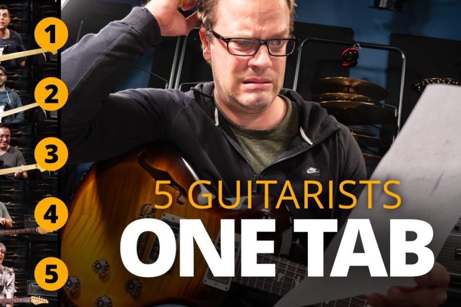 5 Guitarists, 1 Tab - The Hard Truth About Guitar Tabs