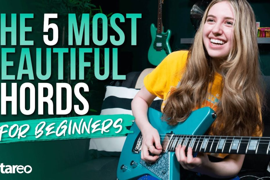 5 Most Beautiful Guitar Chords for Beginners