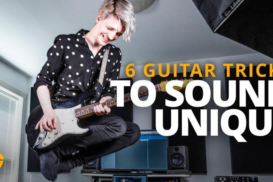 6 Tricks That Make Your Guitar Solos Sound Unique