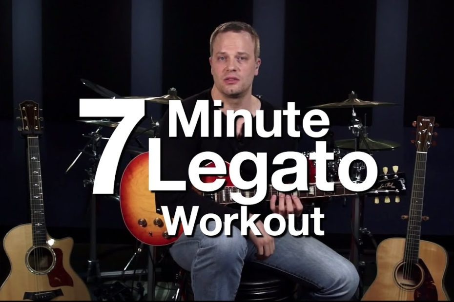 7 Minute Legato Workout - Hammer Ons & Pull Offs