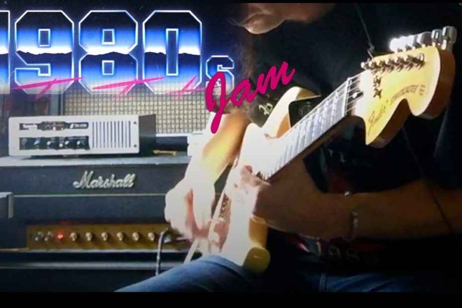 80s Hard Rock Jam with a DOD 250 and BOSS SD1