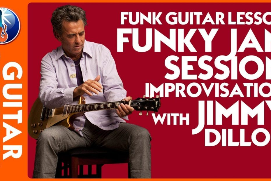 Acoustic Guitar Jam - Funky Jam Session Improvisation with Jimmy Dillon