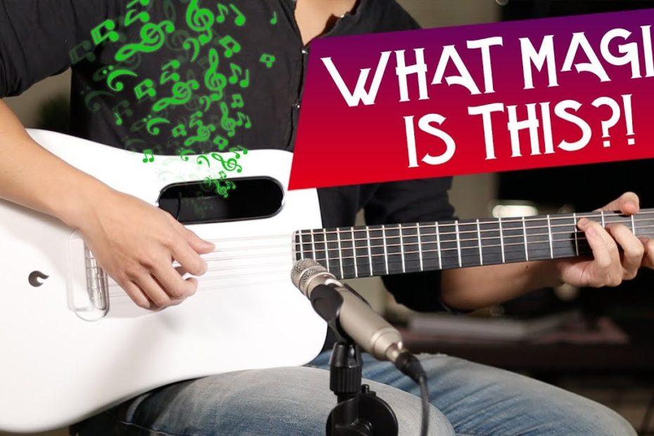 ACOUSTIC GUITAR WITH BUILT-IN FX - REVERB & DELAY  LAVA ME 2 GUITAR REVIEW