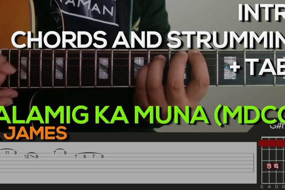 Al James - Palamig Ka Muna McDo [CHORDS] Guitar Tutorial with (TABS on SCREEN)