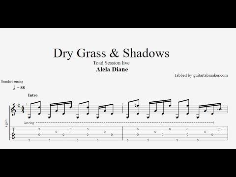 Alela Diane - Dry Grass and Shadows TAB - fingerpicking guitar tabs (PDF + Guitar Pro)