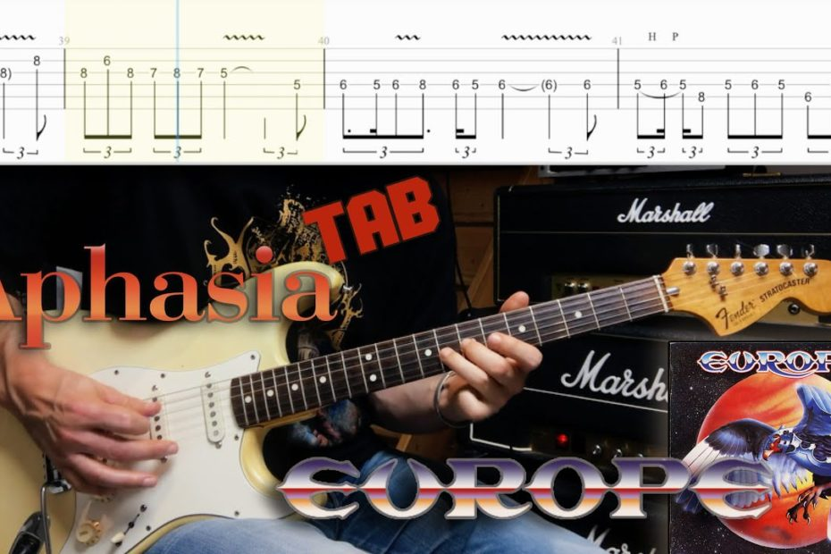 Aphasia (Extended version) Europe (Cover + Tab)