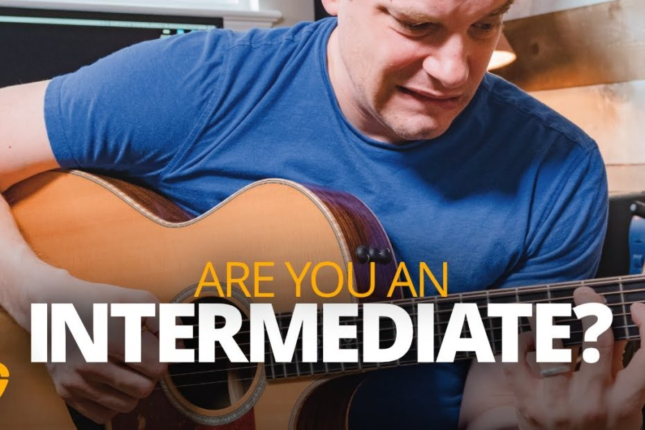 Are you an intermediate guitar player? Here's how to know.