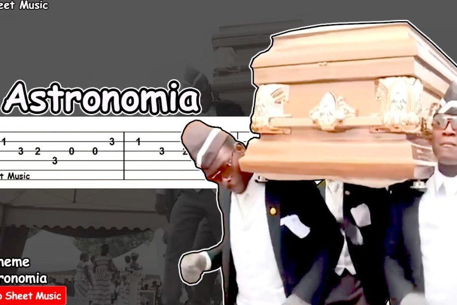 Astronomia Meme (Coffin Dance Meme) Guitar Tutorial