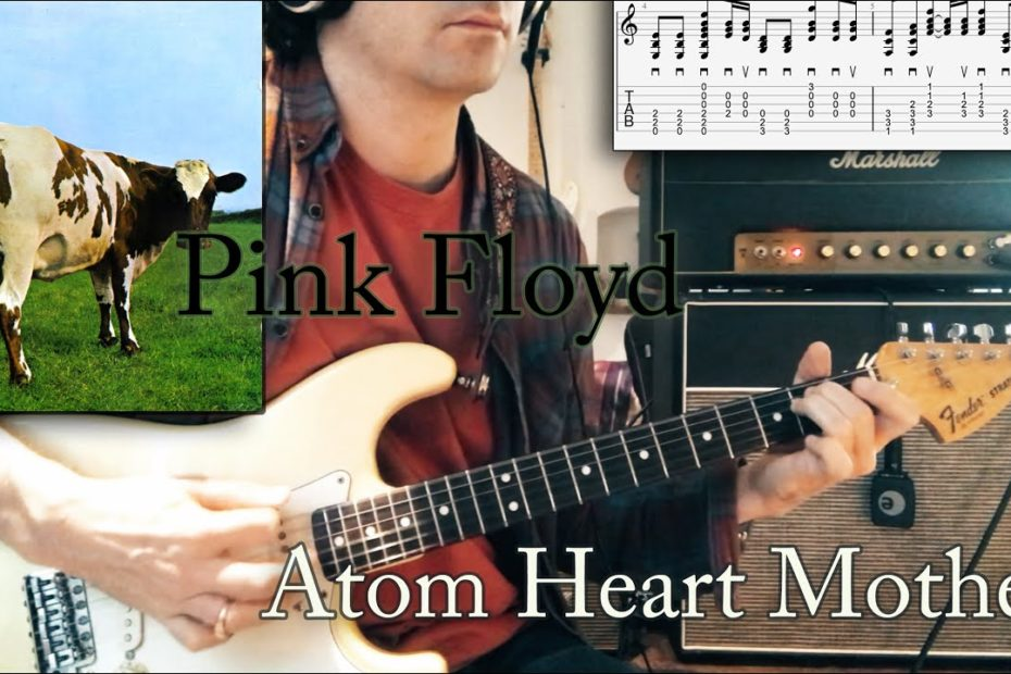Atom Heart Mother - Pink Floyd Cover | Tutorial | TAB | Lesson