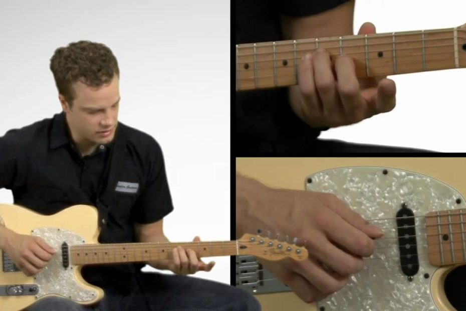 Basic Guitar Arpeggios - Guitar Lesson