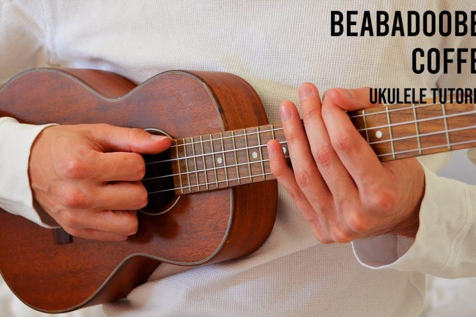 Beabadoobee – Coffee EASY Ukulele Tutorial With Chords / Lyrics  NO CAPO