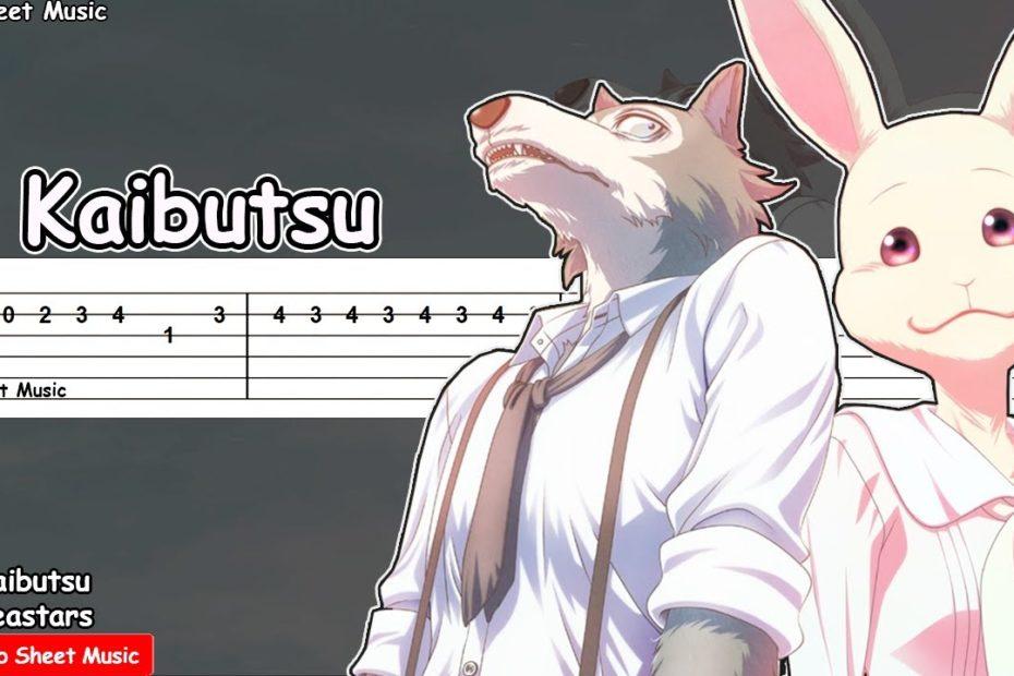 Beastars Season 2 OP - Kaibutsu Guitar Tutorial / YOASOBI (怪物)