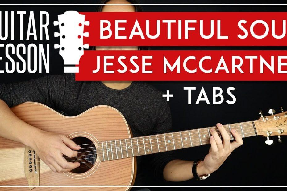 Beautiful Soul Guitar Tutorial   Jesse McCartney Guitar Lesson  No Capo + Easy Chord 