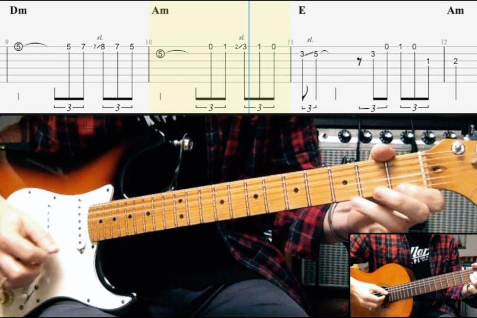Bella - Maître Gims (Complete Guitar Arrangement + TAB)