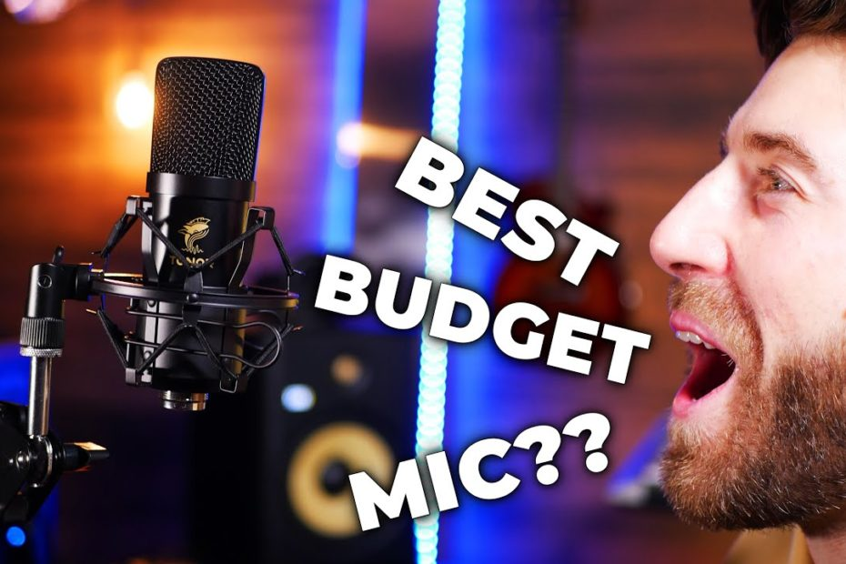 Best Budget Microphone !? (TONOR TC20 REVIEW)