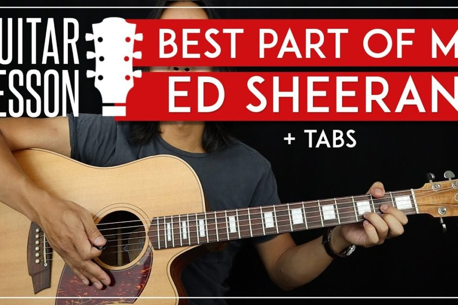 Best Part Of Me People Guitar Tutorial   Ed Sheeran Yebba Guitar Lesson |Fingerpicking + No Capo|