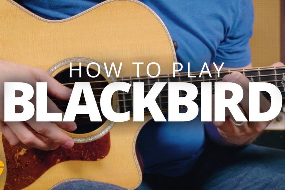 """Blackbird"" - The Beatles Guitar Lesson"