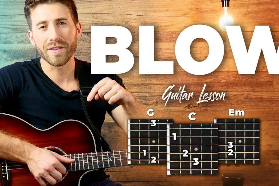 Blow Guitar Tutorial + Full Song Playthrough (Ed Sheeran)