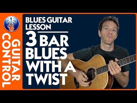 Blues Guitar Lesson: 12 Bar Blues with a Twist | Guitar Control