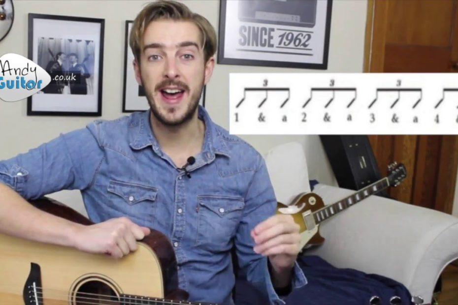 Blues & Swing Strumming Guitar Tutorial (Beginners Course Level 7#3)