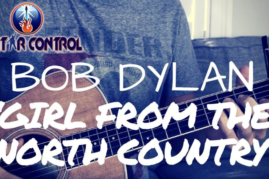 Bob Dylan 'Girl from the North Country' Fingerstyle Guitar Lesson