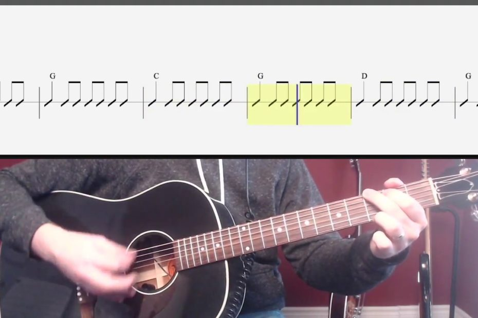Brown Eyed Girl (Chords and Strumming) Watch and Learn Guitar Lesson for Beginners