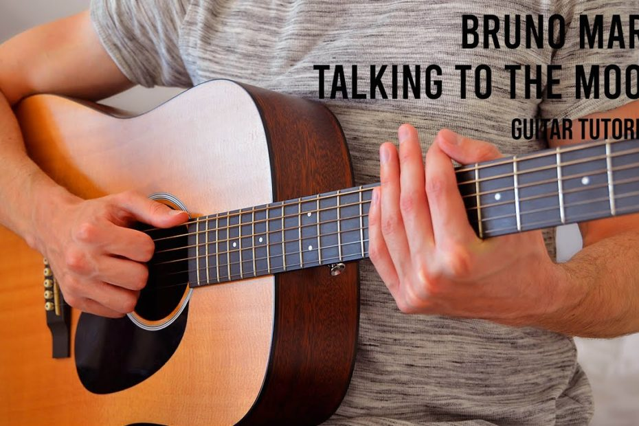 Bruno Mars – Talking To The Moon EASY Guitar Tutorial With Chords / Lyrics