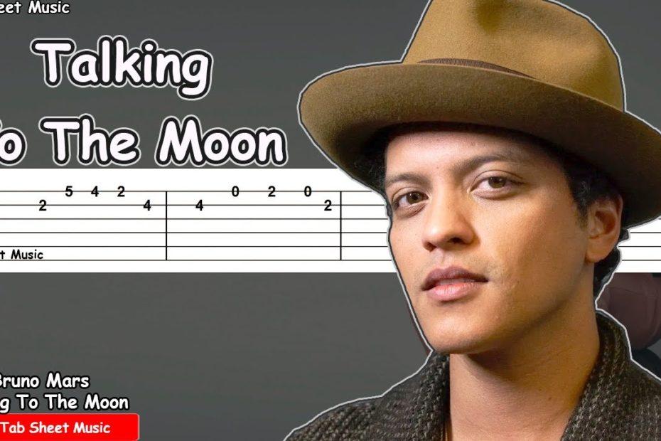 Bruno Mars - Talking To The Moon Guitar Tutorial | TAB