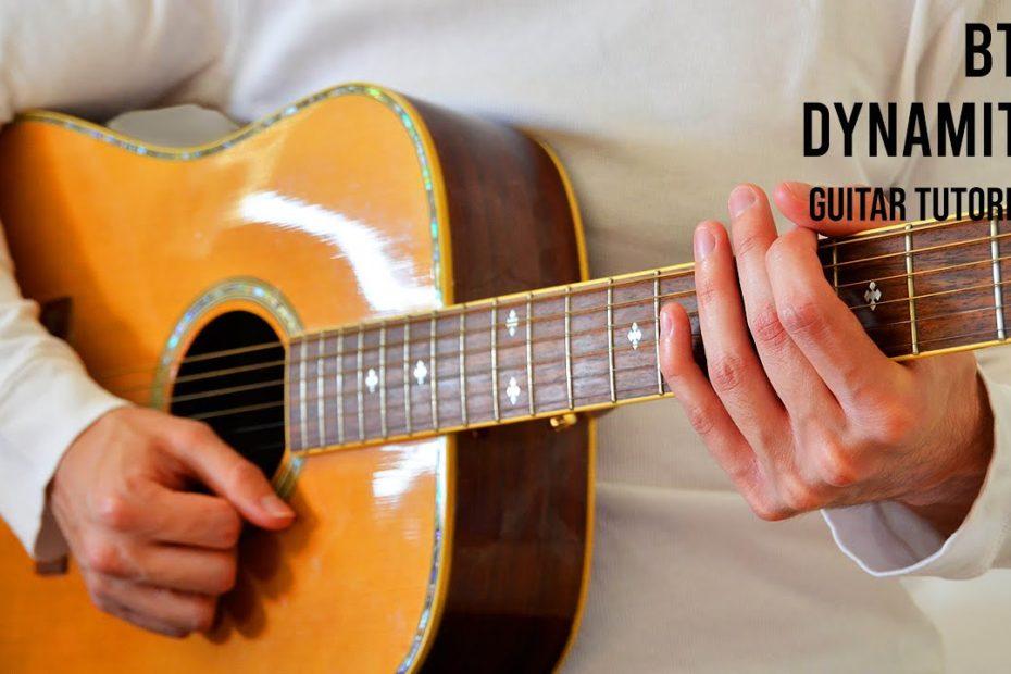 BTS – Dynamite EASY Guitar Tutorial With Chords / Lyrics