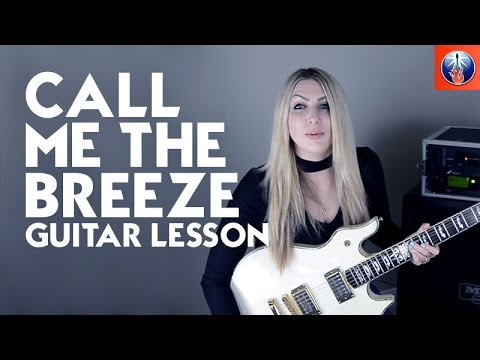 Call Me the Breeze Guitar Lesson - Lynyrd Skynyrd Call Me the Breeze Intro