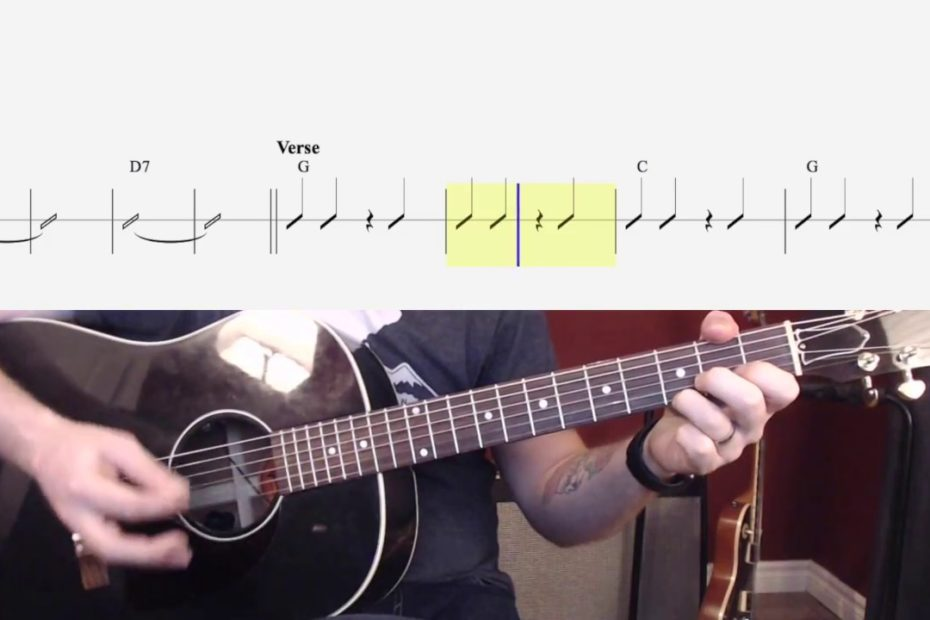 Campfire Song (Easy Chords and Strumming) Watch and Learn Guitar Lesson for Kids to Pre-Teen