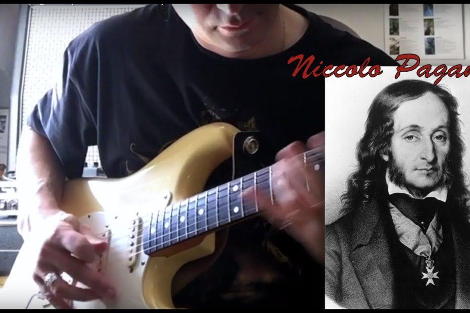 Caprice 16 N. Paganini (Guitar Cover + TAB)