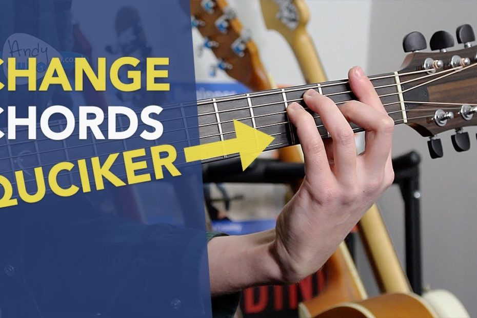 Change Between Barre Chords and Open Chords EASILY on Guitar
