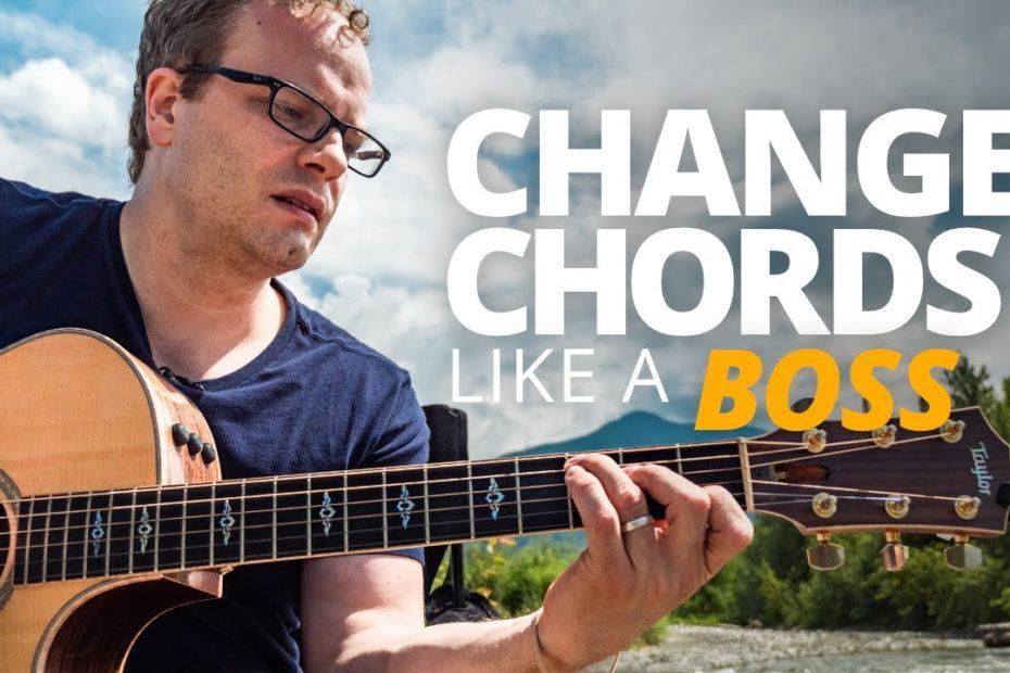 Change Chords Like A Boss - Campfire Guitarist Quick-Start Series #4