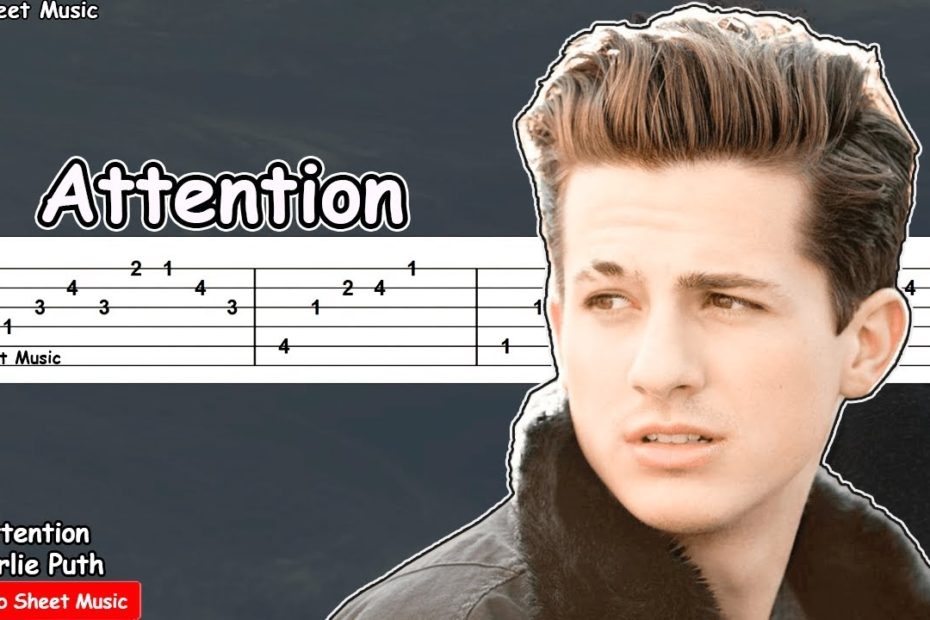 Charlie Puth - Attention Guitar Tutorial   TAB