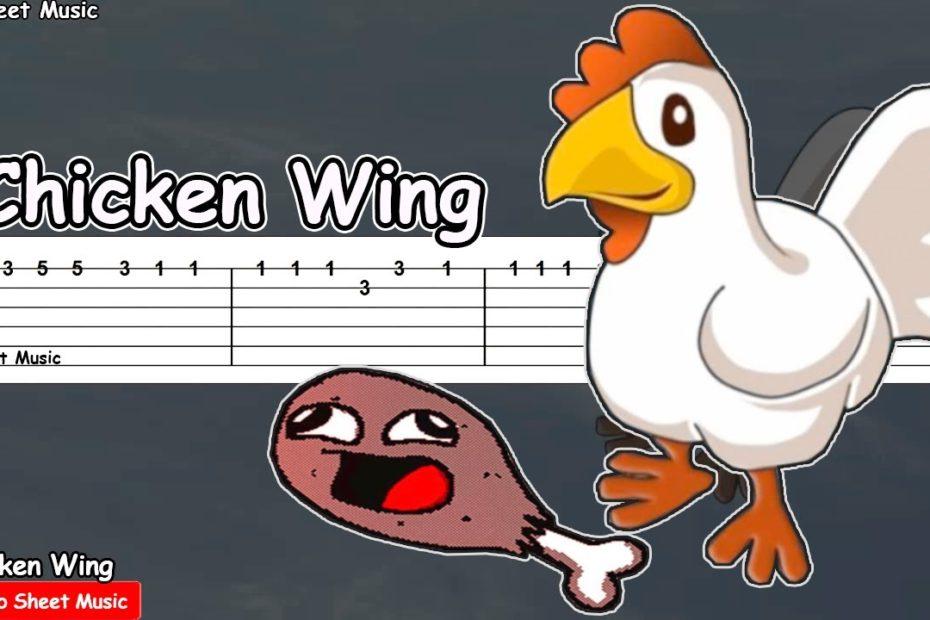 Chicken Wing (Meme) Guitar Tutorial