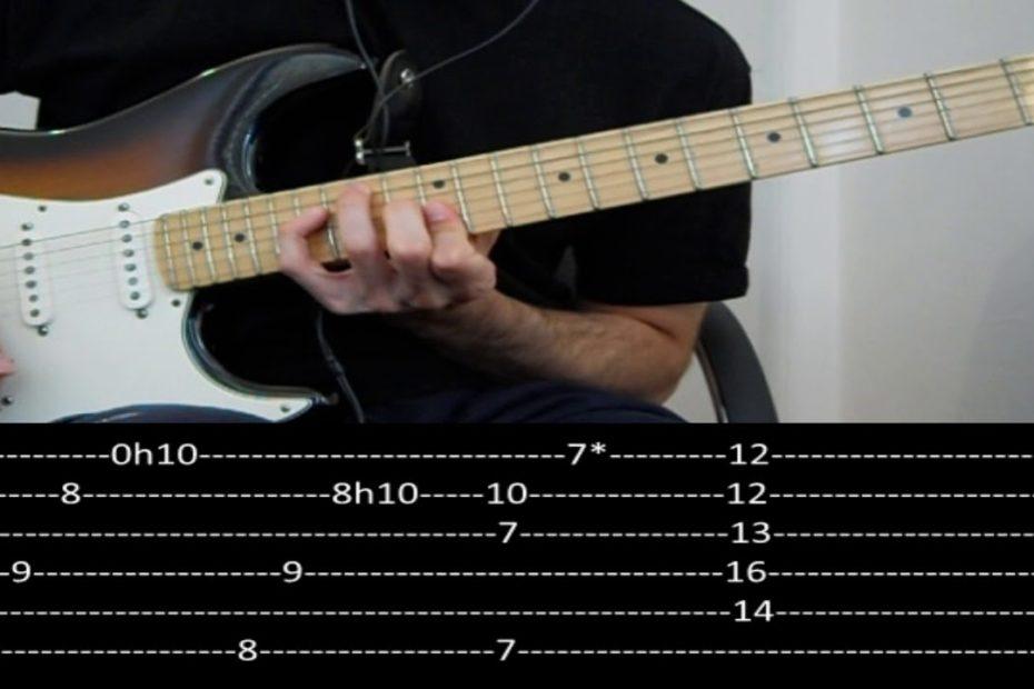 CHON - Knot (slow + tab) FULL SONG
