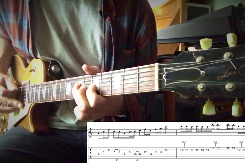 Classic Rock Solo part I : Stairway To Heaven + TAB