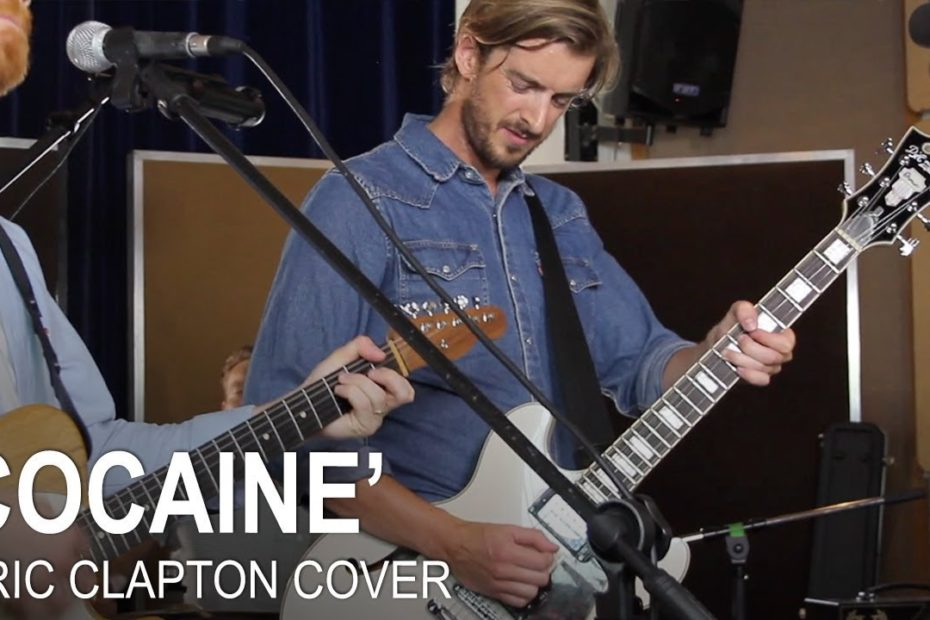 """""""Cocaine"""" Eric Clapton/ JJ Cale COVER by Andy Guitar Band"""